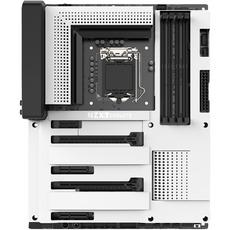 NZXT N7 Mainboard Z370 in weiß (4x DDR4, 2x. PCI-E x16, 4x Sata3, 2x M.2, 4x USB 3.0, 5x USB 2.0)