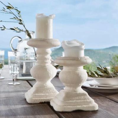 15% extra Rabatt auf den Sale + versandkostenfrei bei Loberon, z.B. Kerzenständer-Set Tova aus Terrakotta