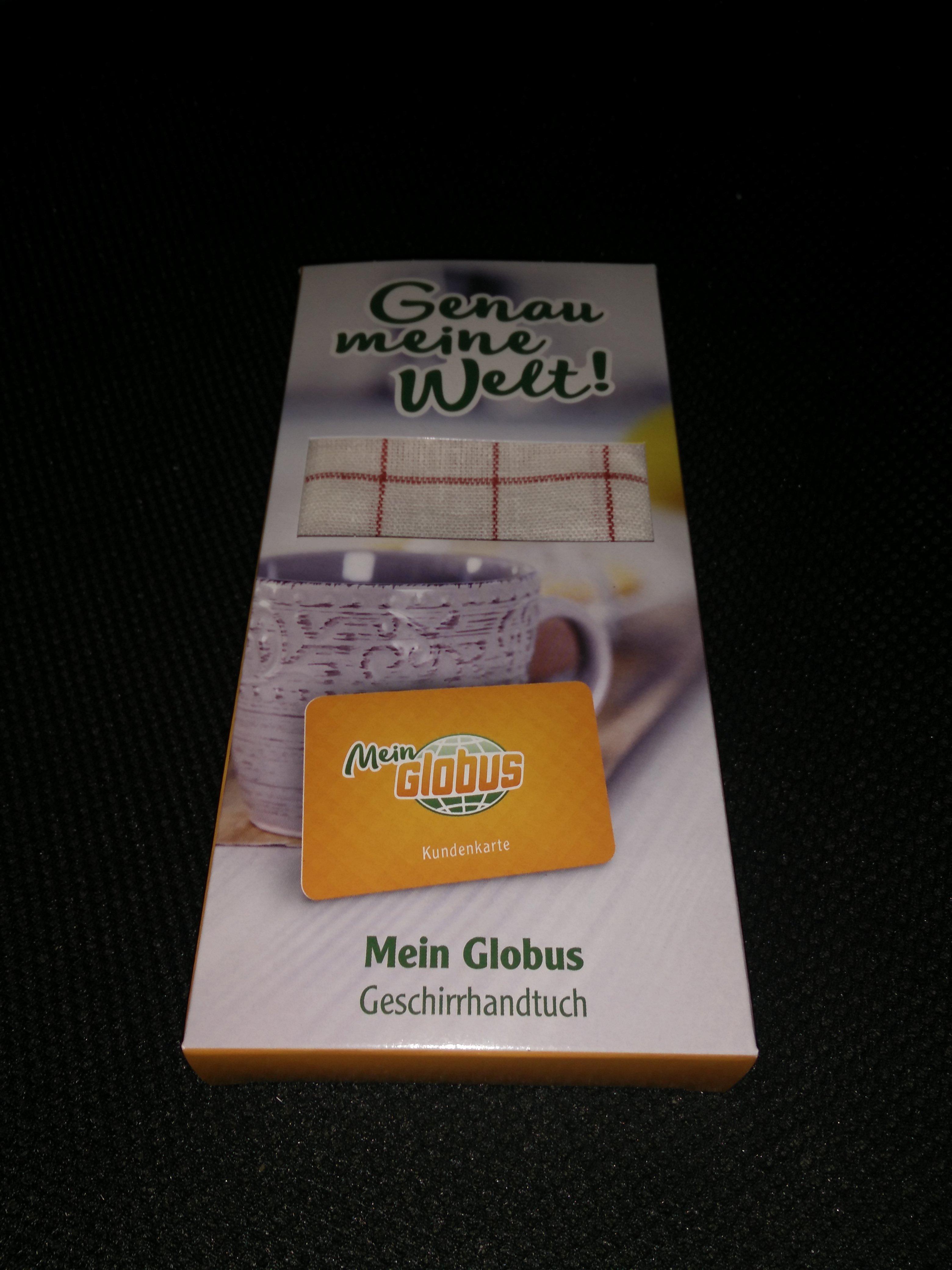 Globus Supermarkt Geschirrhandtuch GRATIS (offiziell nur mit Mein Globus Kundenkarte)