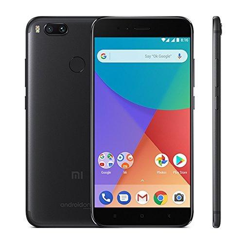 Xiaomi Mi A1 5,5 Zoll 4 GB 64 GB Android One SD 625 Smartphone Schwarz EU Global