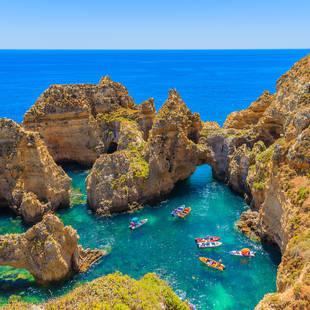 Eine Woche Algarve für 272 Euro für 2 Personen im DZ incl. Flug im 4 Sterne Hotel ab Frankfurt