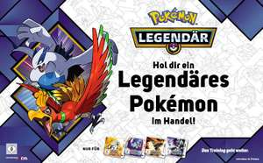 Kostenlos die Legendären PokémonLugia oder Ho-Ohfür Pokémon Ultrasonne- bzw. Ultramond-Edition. (Gamestop)
