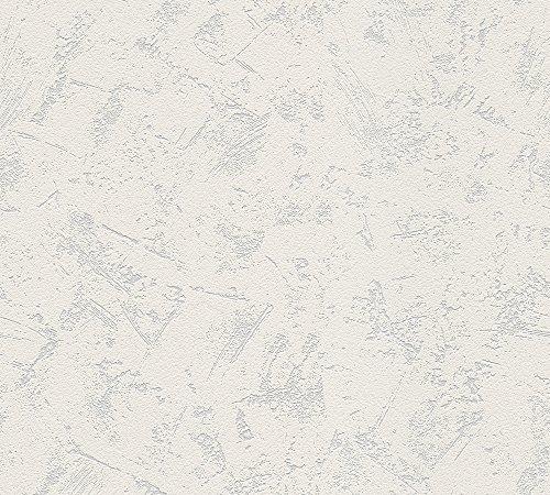 Amazon Prime: A.S. Création überstreichbare Vliestapete Meistervlies Tapete 25,00 m x 1,06 m weiß Made in Germany 520319 5203-19