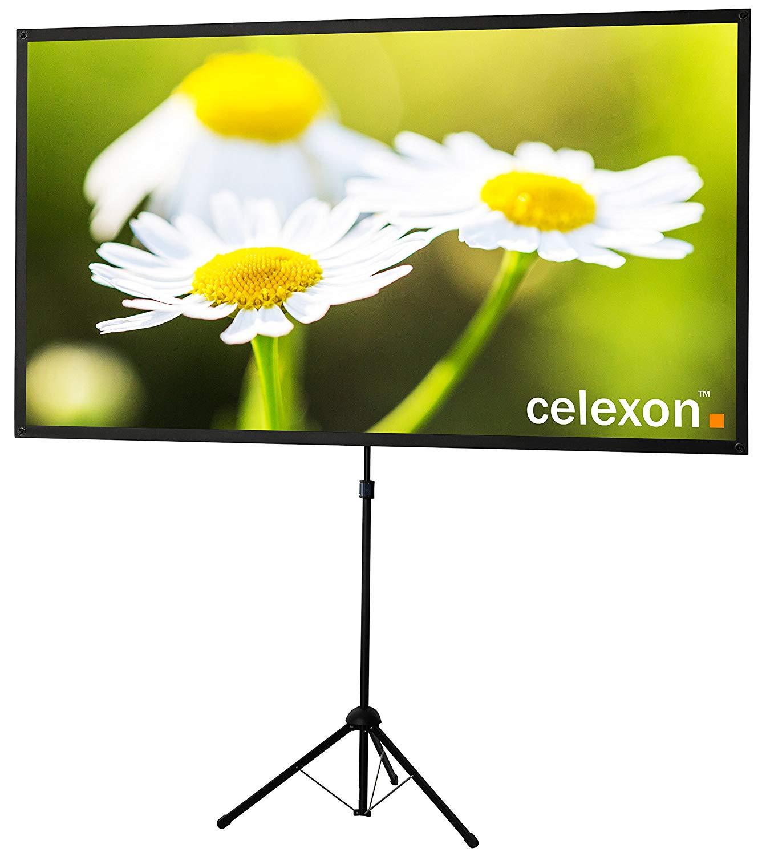 Celexon Ultraleichte Stativ-Beamer-Leinwand - 177 x 100 cm - 16:9 - für 59,99 € @ Kaufland ab 22.11.