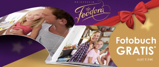 Gratis Fotobuch beim Kauf einer Packung Feodora Täfelchen