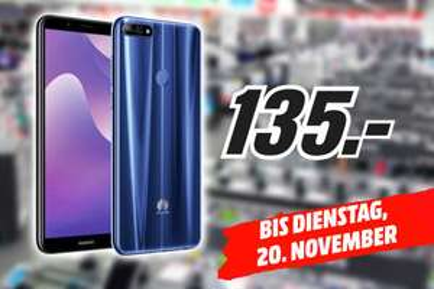 [LOKAL] [MediaMarkt Dresden] Huawei Y7 (2018) für 135€