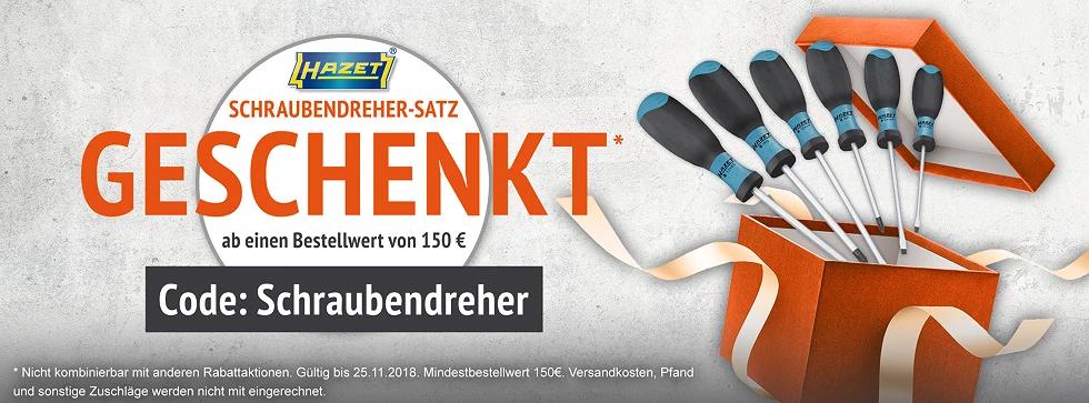 Schraubendreher-Set geschenkt bei ATP Autoteile (150€ MBW)