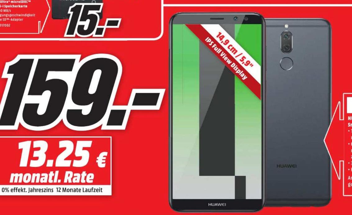 [LOKAL] [MediaMarkt Dresden] Huawei Mate 10 lite