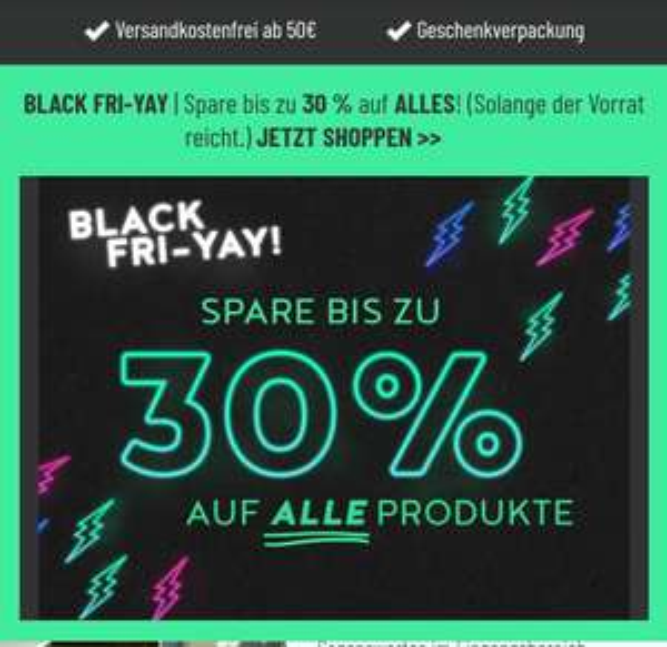Radbag Black-Fri-Yay Sale (30% auf alles)