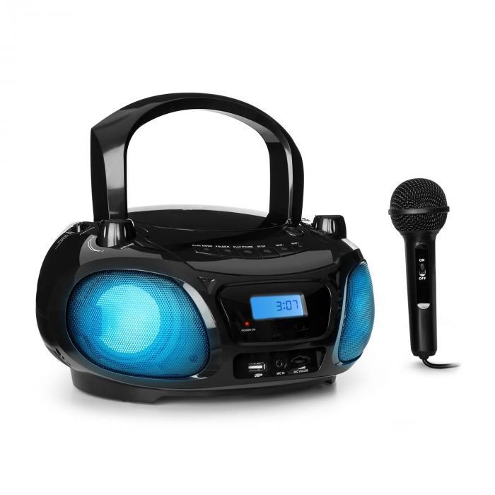 [-10% auf ALLES bei auna.de] z.B. tolles Kinderradio auna Roadie mit CD, USB, Bluetooth, Radio und Mikrofon für 52,19€