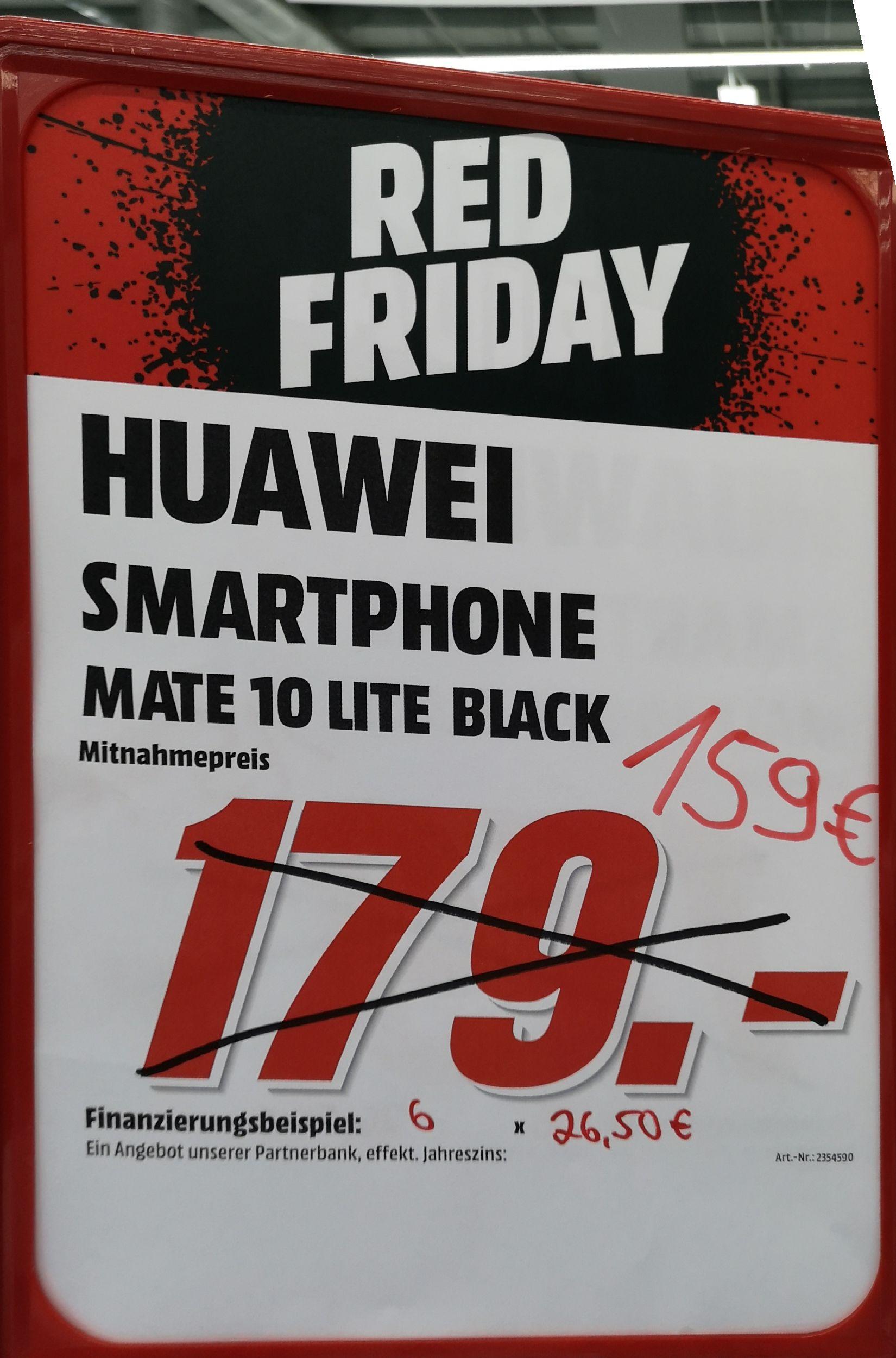 [Lokal MM Castrop-Rauxel] Huwei Mate 10 Lite 159 Euro