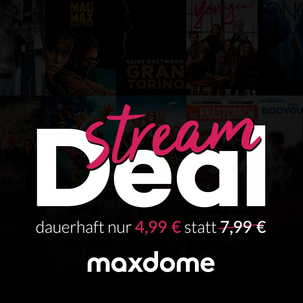 maxdome Stream Deal