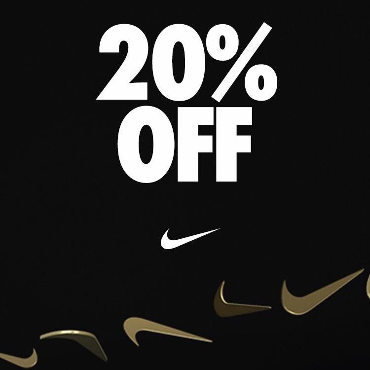 20% + 10% Shoop Rabatt auf fast alle nicht Sale Artikel bei Nike.de