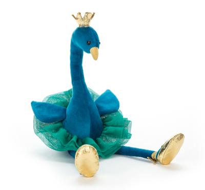 """20% Rabatt auf Spielsachen bei Nostalgie im Kinderzimmer, z.B. Pfau """"Fancy"""" von Jellycat"""
