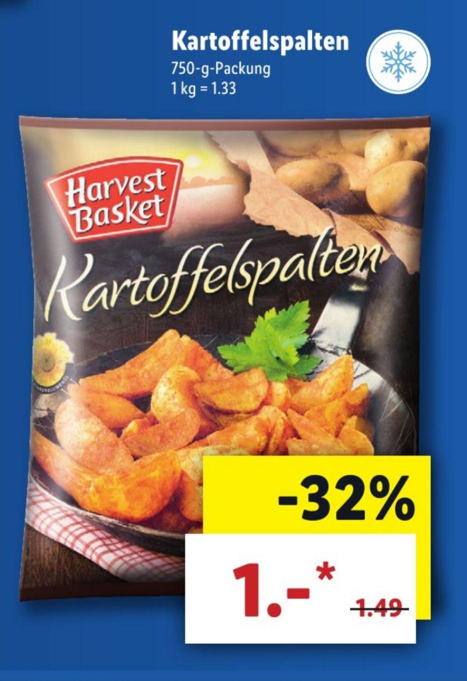 Harvest Basket Kartoffelspalten [Lidl ab 6.12.]