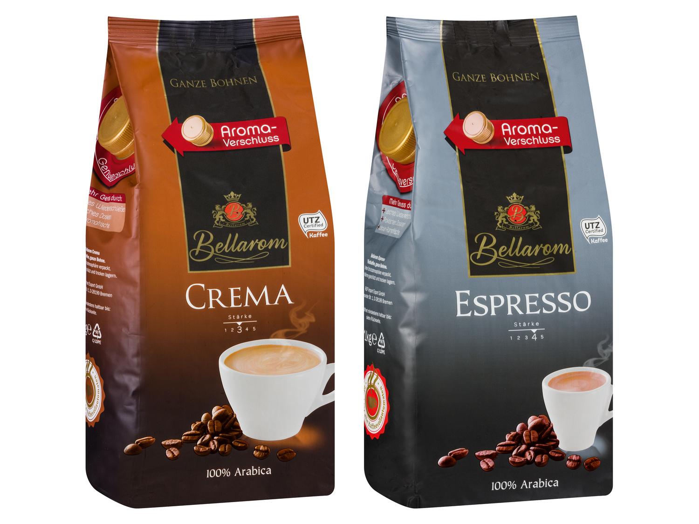 [LIDL offline] BELLAROM Espresso ganze Bohne