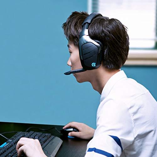 Logitech G933 Artemis Spectrum Kabelloses 2,4 GHz Gaming-Headset (mit 7.1 Surround Sound Pro, geeignet für PC, Xbox One und PS4) schwarz