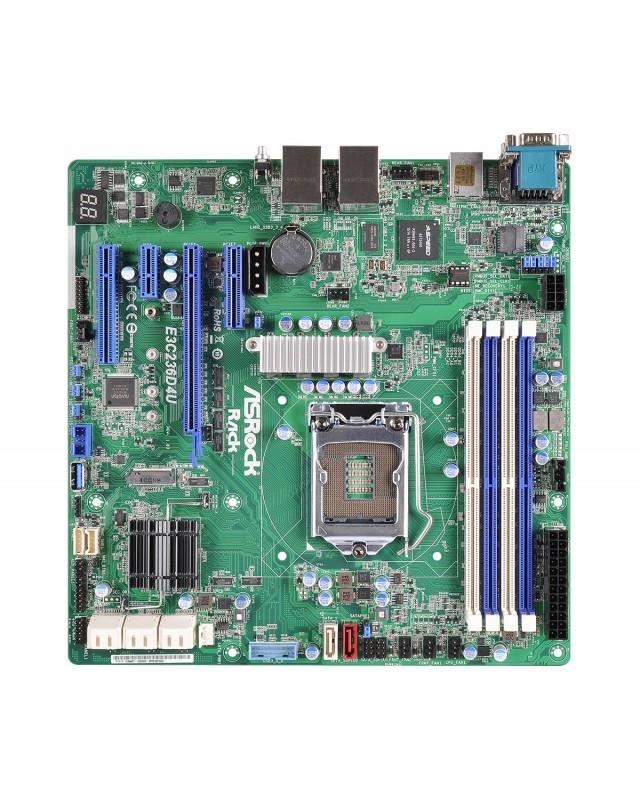 ASRock E3C236D4U C236 Mini ATX Server Mainboard