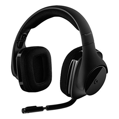 [Amazon.es] Logitech G533 Gaming Headset (kabelloser DTS 7.1 Surround Sound) schwarz