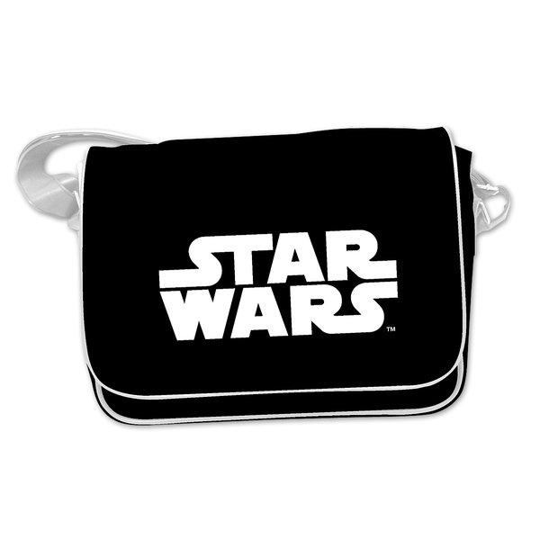 Umhänge Tasche mit Star Wars Aufschrift bei Close Up