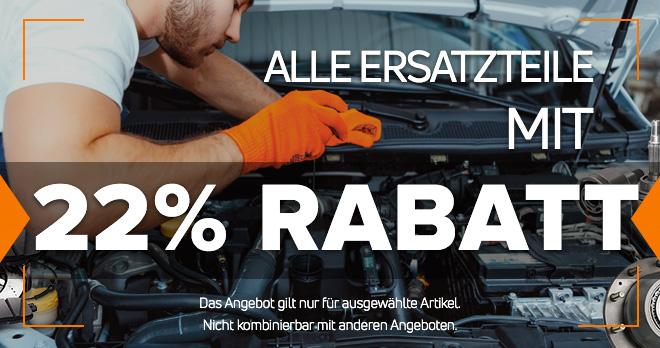 Bei AutoDoc Onlineshop - Alle Ersatzteile mit 22% RABATT