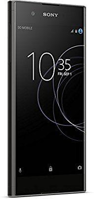 Amazon - Sony Xperia XA1 Plus Smartphone (14 cm (5,5 Zoll)Display, 32 GB Speicher/4GB RAM, Android 7.0) Schwarz & blau