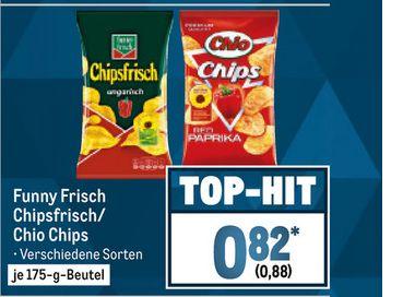 [Metro ab 27.12] CHIO Chips im 175 Gramm Beutel in verschiedenen Sorten für je 0,88€