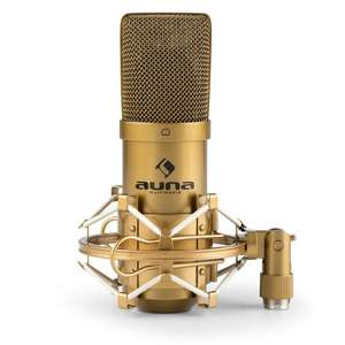 20% Rabatt auf alle Studiomikrofone bei Auna