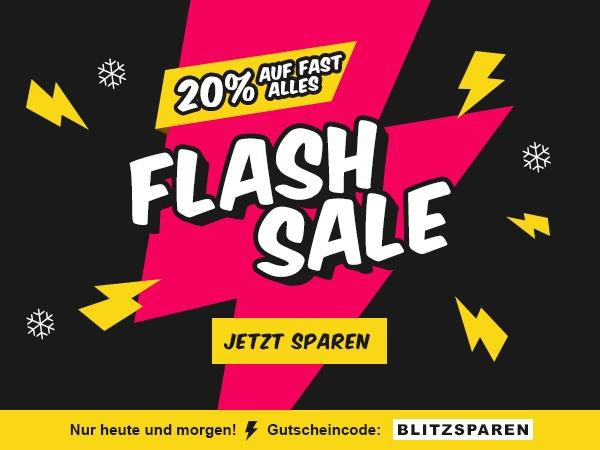 20% Flashsale bei Sconto.de bis Sonntag 24Uhr