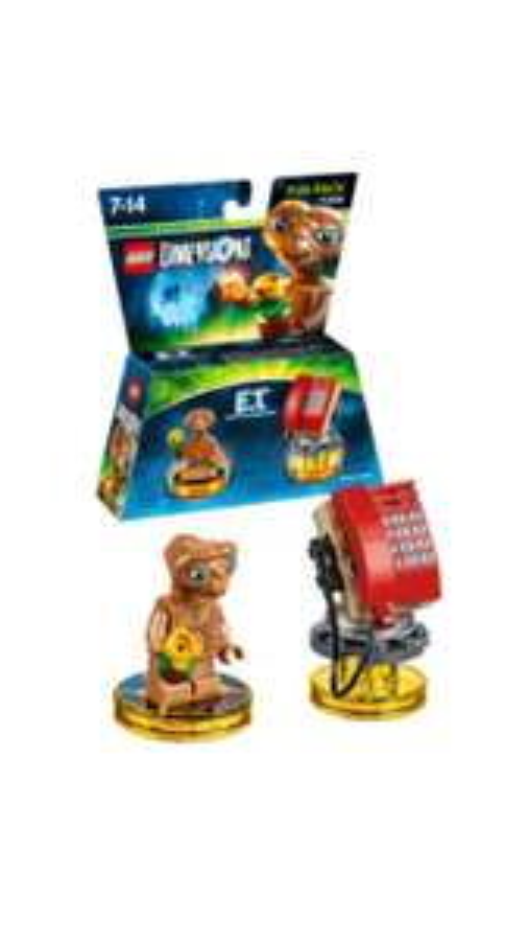 (Saturn) Warner Bros. Lego Dimensions Fun Pack : zb E.T , KNIGHT RIDER, A-Team usw
