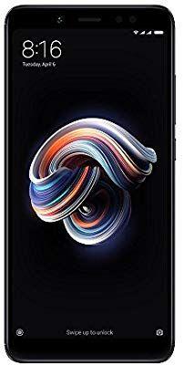 Xiaomi Redmi Note 5 Dual Sim Globale Version (nur englisches Handbuch), schwarz [Amazon]