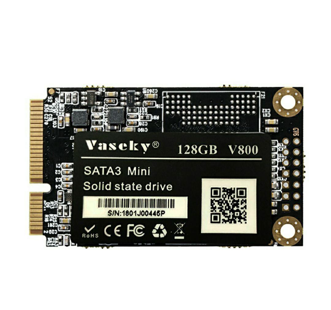 Vaseky V800 SATA3 SSD mSATA - 128GB 1,8 Zoll | 497MB/s read + 302MB/s write