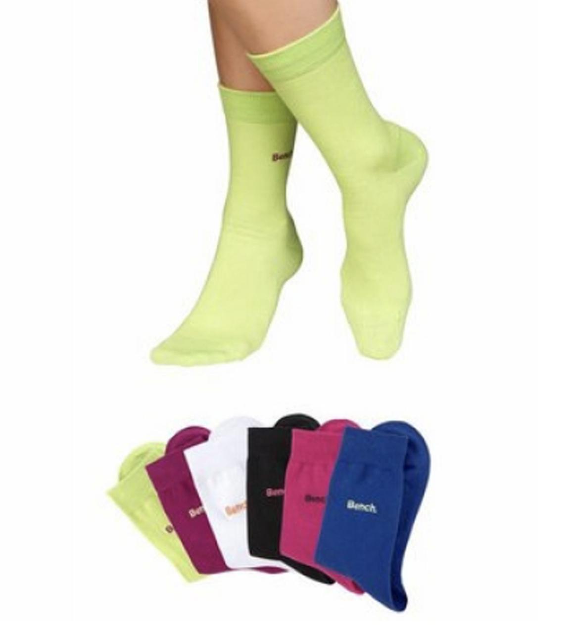 18 Paar bunte Bench.  Socken Größe 43-46 78% Baumwolle.