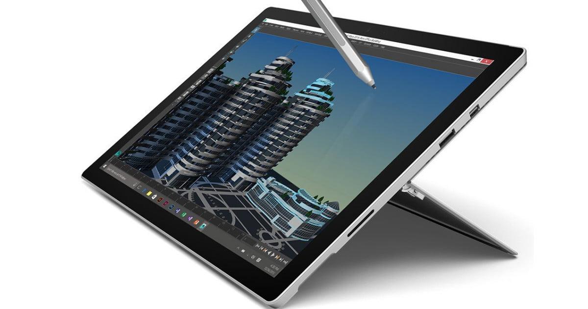 Microsoft Surface PRO 4 i5 4GB 128GB SSD @ Amazon.it WHD