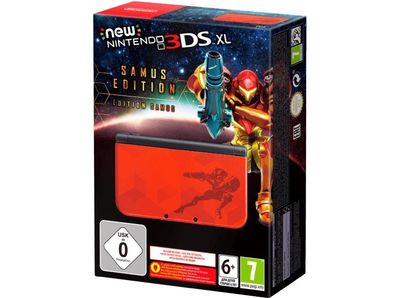 [Media Markt - Online] New 3DS XL - Samus Edition