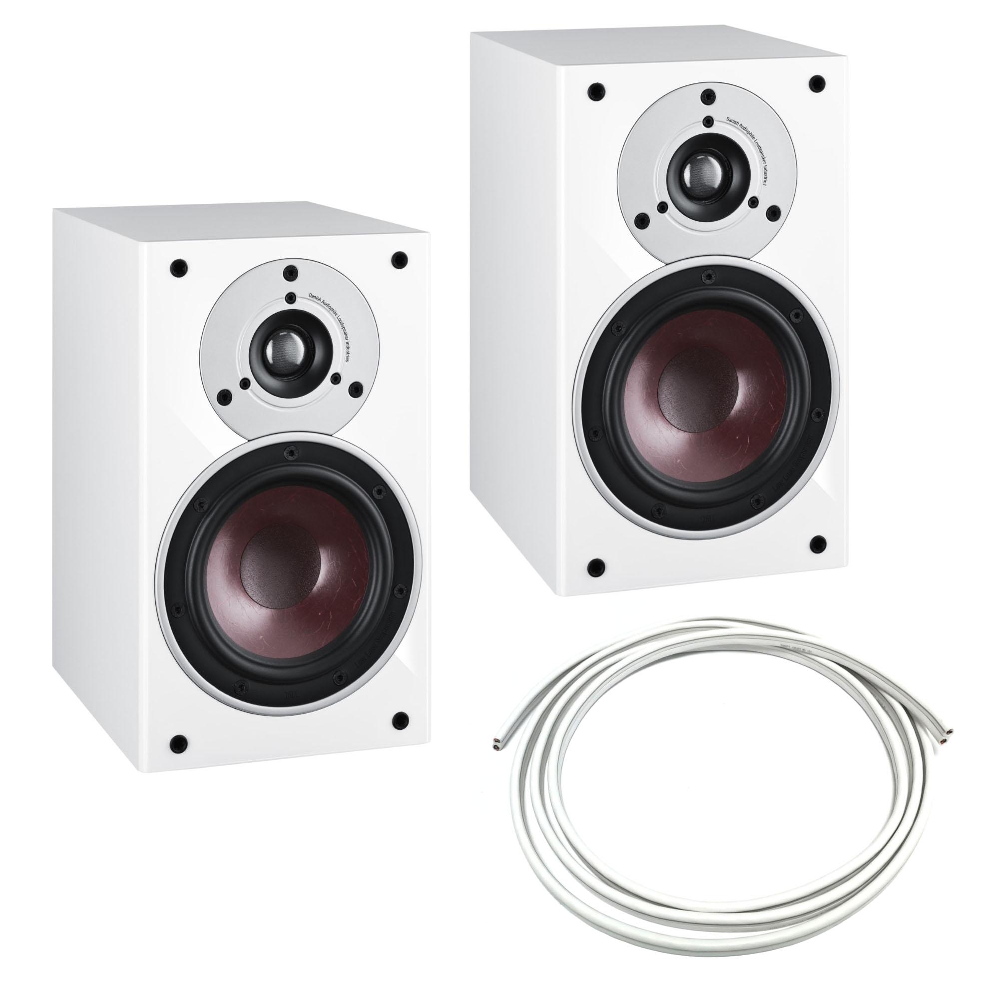 Dali Zensor 1 (Paar, weiß oder walnuss) + Gratis 5m-Audioquest-Lautsprecherkabel