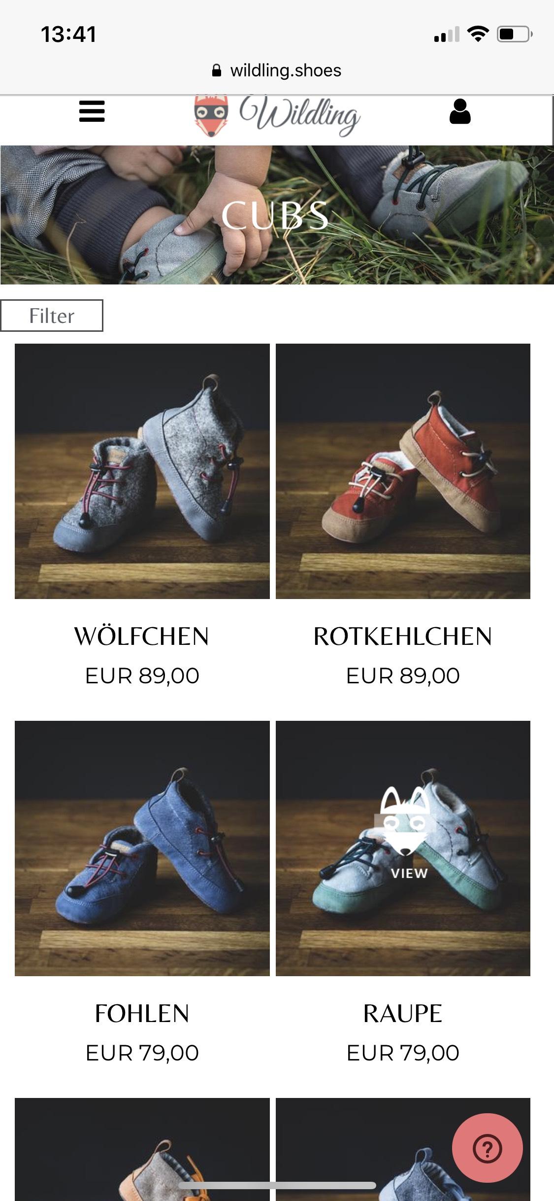 Wildling Shoes Winter Sale 20% auf Herbst/Winter Kollektion Barfußschuhe Lauflernschuhe