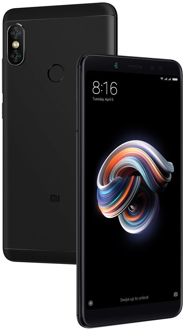 "Xiaomi Redmi Note 5 (5.99"", 2.160 x 1.080, Snapdragon 636, 4GB RAM, 64GB + microSD, Dual Cam, 4000 mAh, Hybrid-SIM, Klinke, IR, UKW)"