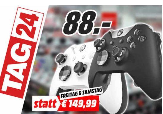 [Regional Mediamarkt Neumünster] Xbox One Elite Wireless Controller (schwarz oder weiß)für je 88,-€
