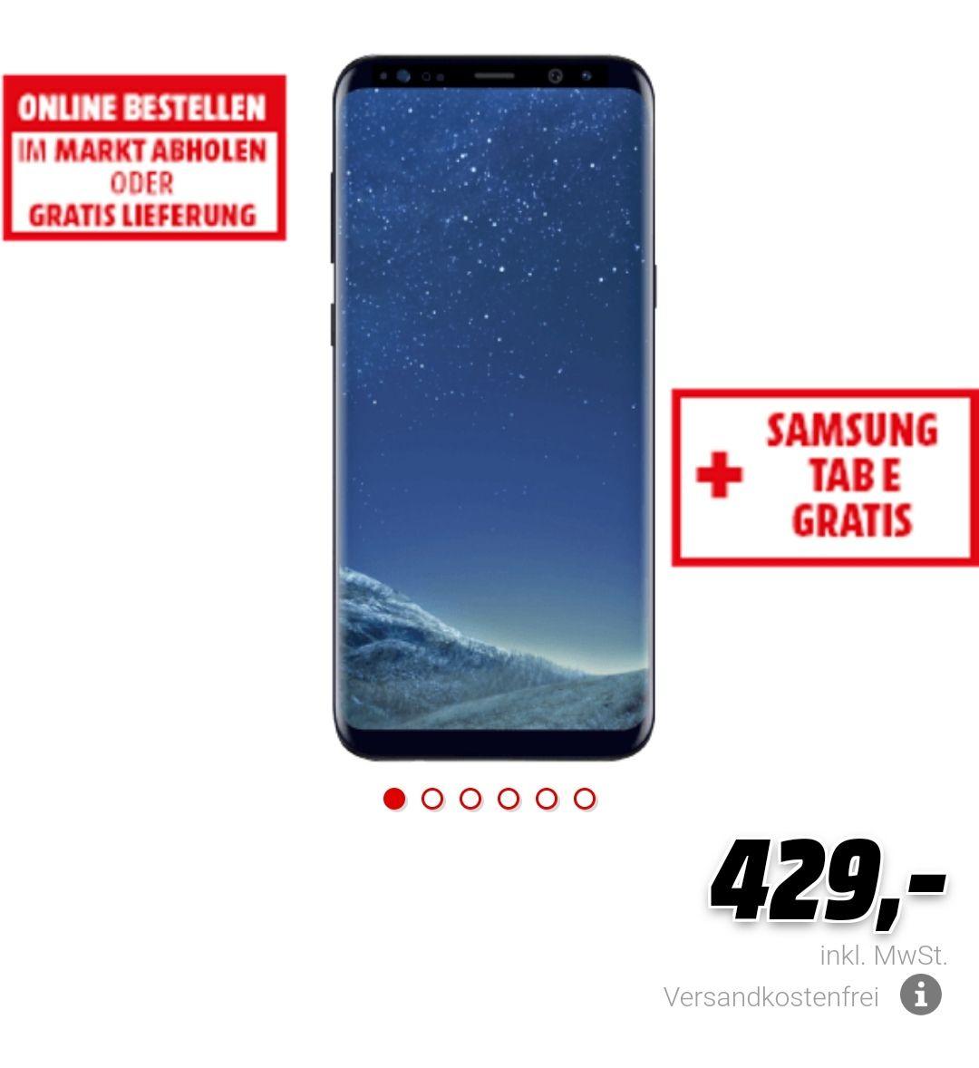 Samsung Galaxy S8 Plus +Tab E 9.6 für 439€ [Media Markt Österreich]