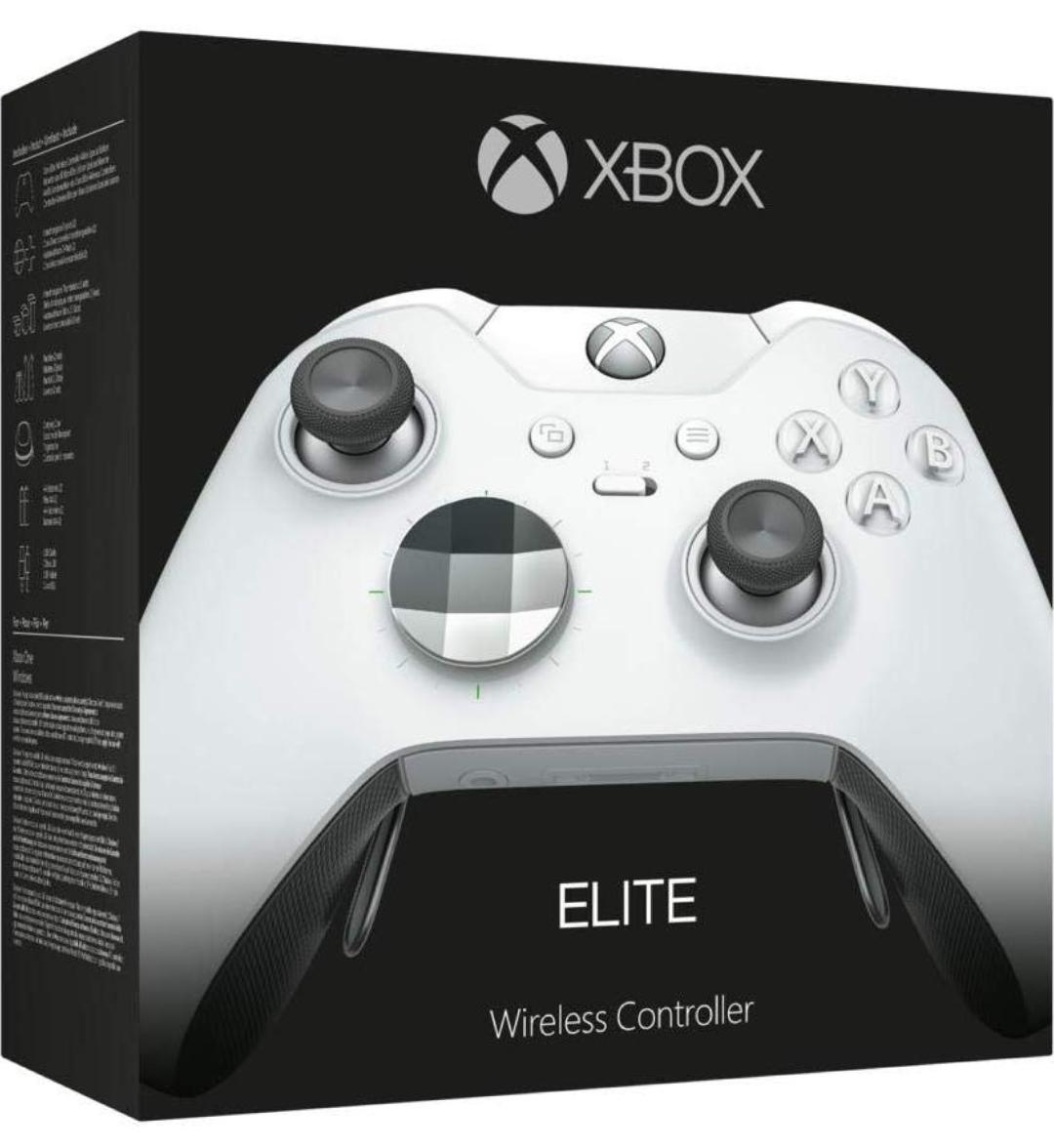 Xbox Elite wireless Controller weiß + Code für Forza Horizon 4 & Gears of War 4