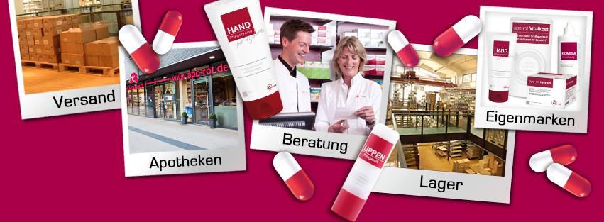 (Shoop apo-rot Versandapotheke) bis zu 14% Cashback + 5€ Shoop.de-Gutschein ab 69€ on Top!