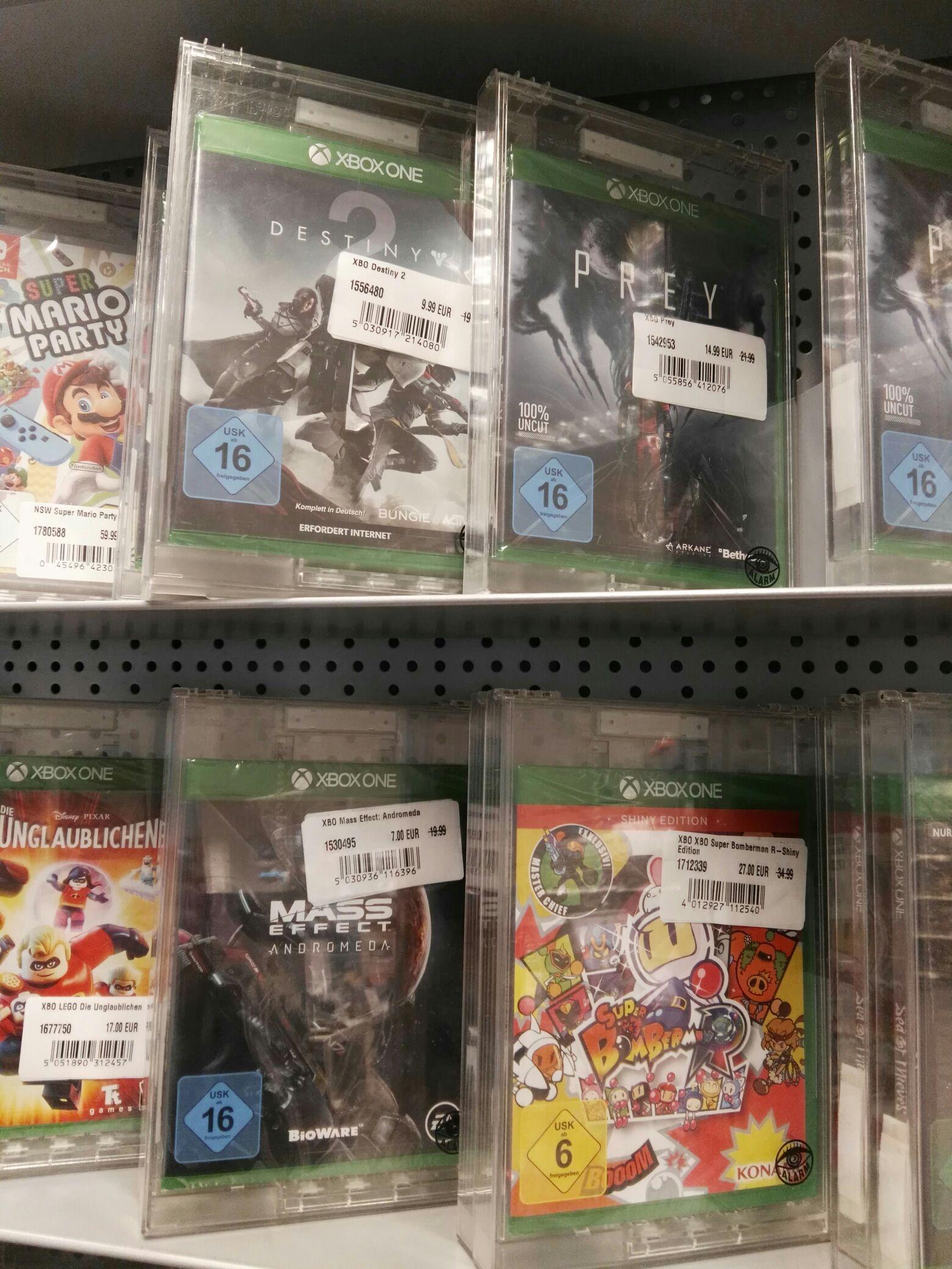 [Lokal: conrad Bremen] einige Xbox Spiele reduziert z.B. Mass effect andromeda für 7€