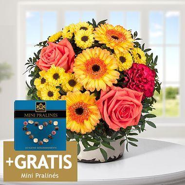 (Lidl Blumen online) 15% Rabatt auf blumensträuße