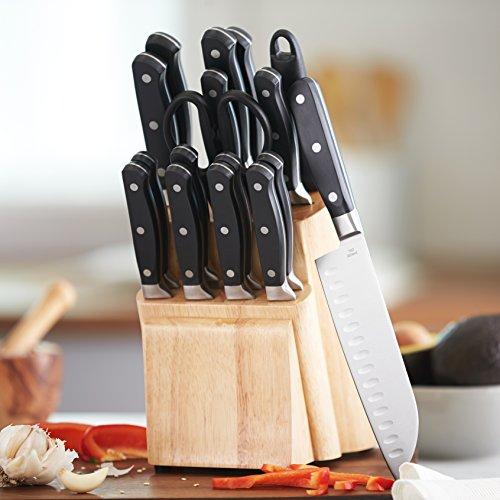 Amazon Basic 18-teiliger Messerblock wieder für 15 Euro!