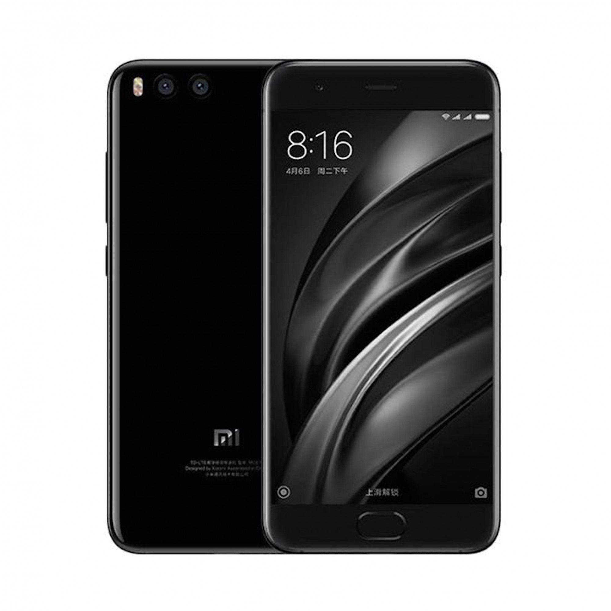 """Xiaomi Mi 6 64/4GB (Snapdragon 835, 5,15"""" FHD, Dual 12MP, Fingerabdrucksensor, Kein B20)   Deutscher Händler"""