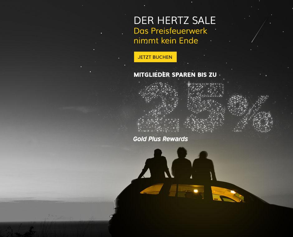 Hertz Mietwagen Sale: z.B. 2 Wochen Midsize SUV ab Las Vegas in Sommerferien für 454€