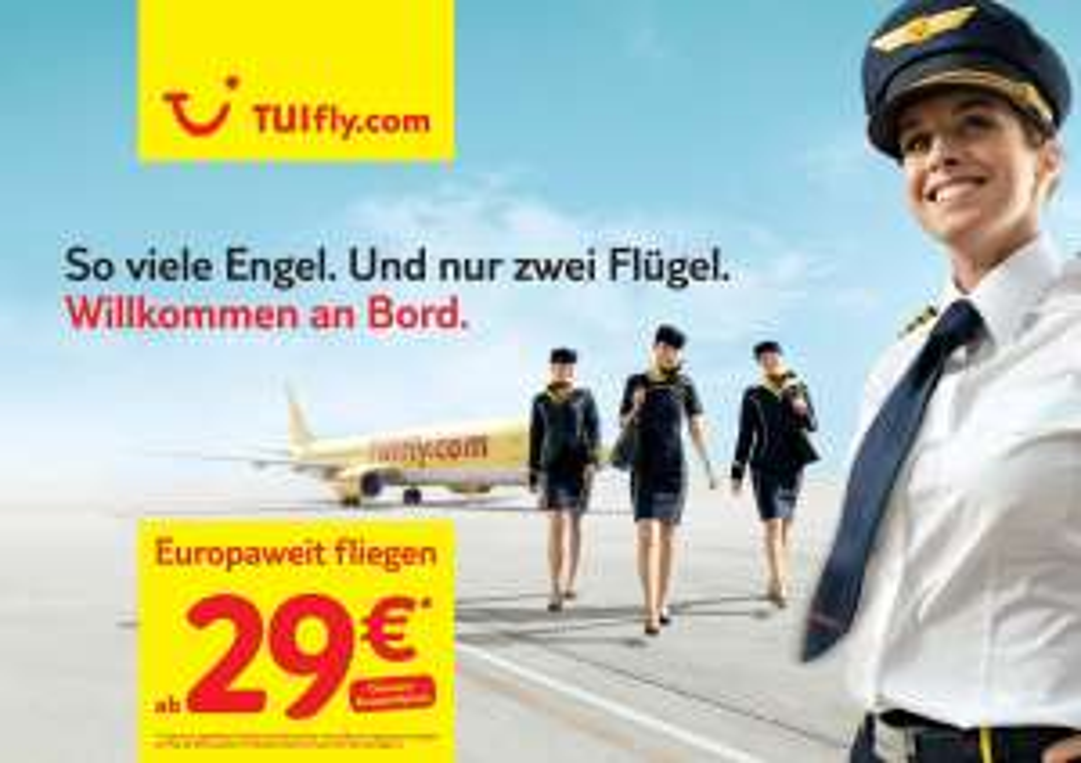 Flüge: TUI fly -33% auf viele Strecken (u.a. Mallorca, Jerez, Faro, Ibiza, Menorca, Madeira)