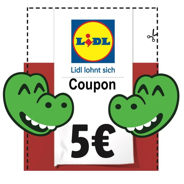 [LIDL] 4 x 5€-Gutschein auf deinen Filial-Einkauf ab 40€ MBW - Einkaufsgutschein mehrfach nutzbar [jeweils LOKAL]