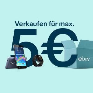 eBay - Max. 5€ Verkaufsprovision bis 25.02.